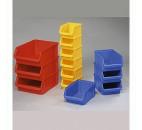 Cutie din plastic galbena
